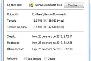 Desbloquear archivo chm