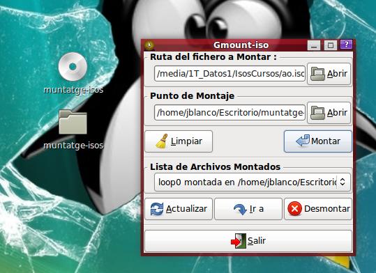 Montar Imagen .ISO en GNU/Linux Ubuntu, Mint