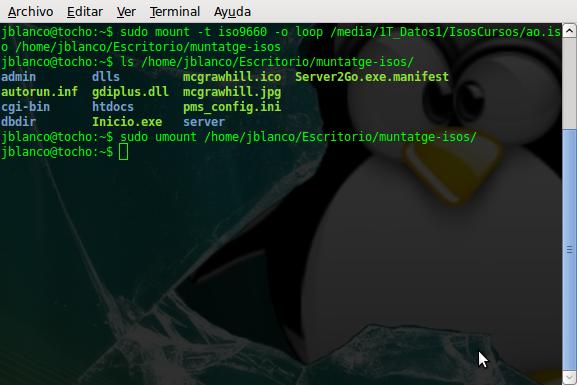 Cómo montar una iso en GNU/Linux