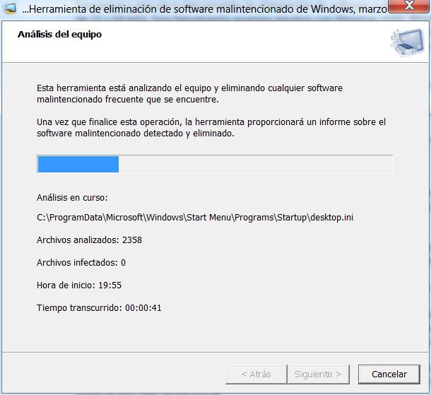 Herramienta de eliminación de software malintencionado de Microsoft® Windows® (KB890830) x64